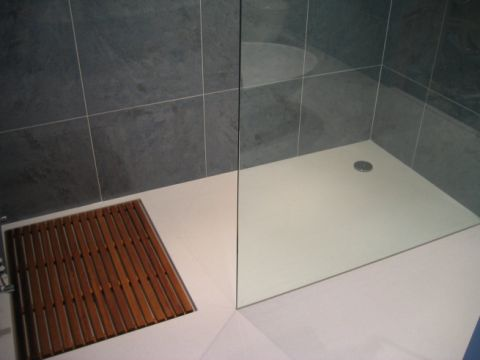 Bespoke Wet Room Shower Area with Iroko Duck Board