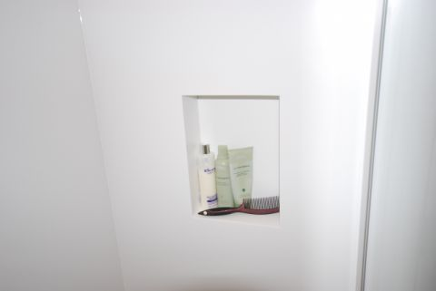 Shower Recess in Wall Panel