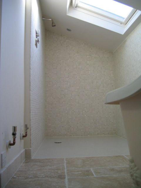 Floor Level View of Wet Room