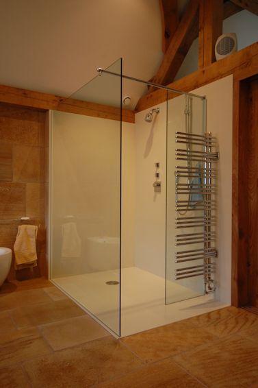 Corian Shower Tray