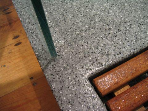 Bespoke HI-MACS Shower Tray and Duck Board
