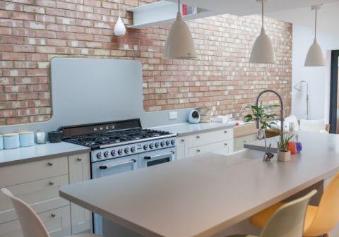 Corian Galley Kitchen