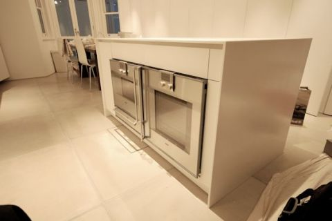 Integrated Ovens to Island Unit