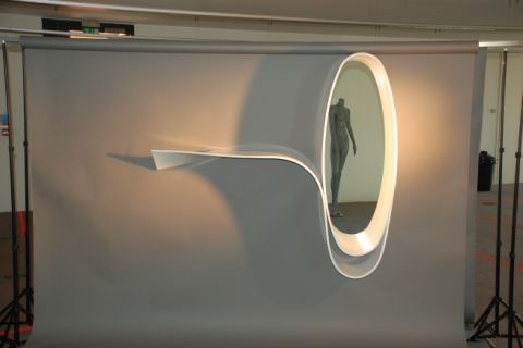 HI-MACS Thermoformed Mirror