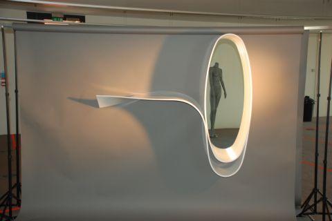 HI-MACS Thermoformed Mirror