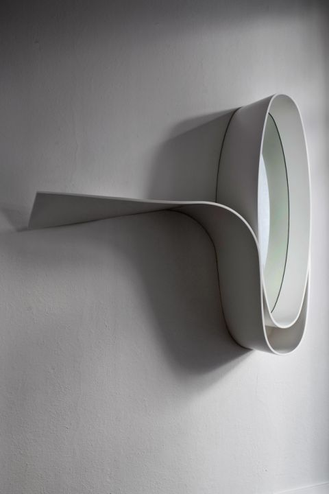 Philip Michael Wolfson 'Why Not' Mirror Shelf