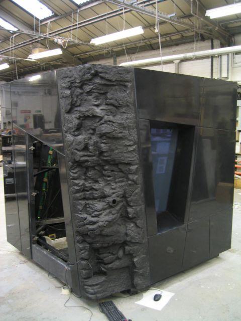 HI-MACS display cube