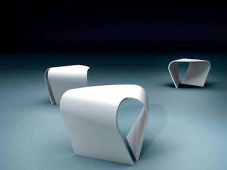 HI-MACS Twisted Table