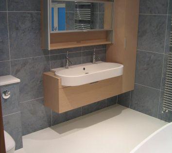 Wet Room Floor with Agape Bathroom Furniture