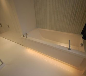Bespoke HI-MACS Thermoformed Bath