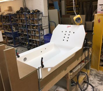 Construction of Bespoke Bath