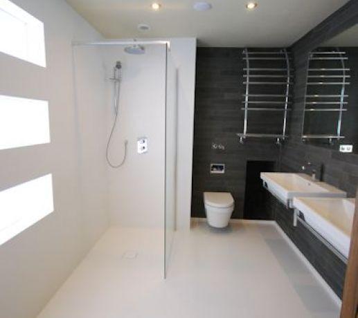 Wetroom Floor and Walls