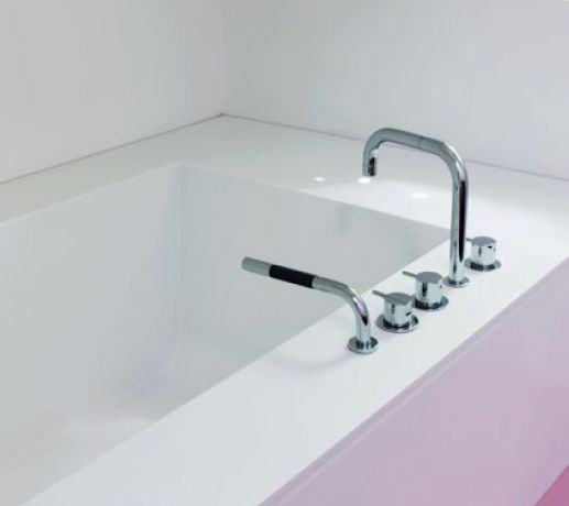 Vola Bath Taps and Hand Shower
