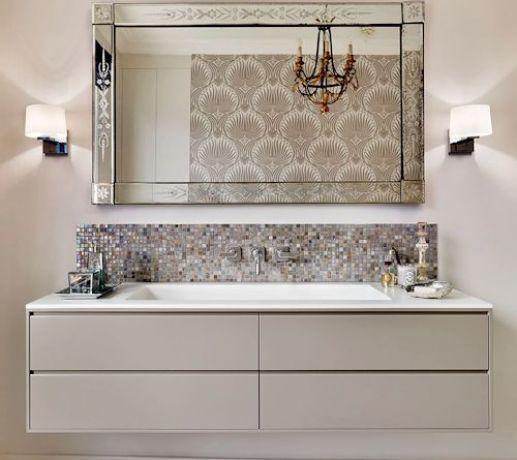 Bespoke Vanity with Custom 4 Drawer Cabinetry