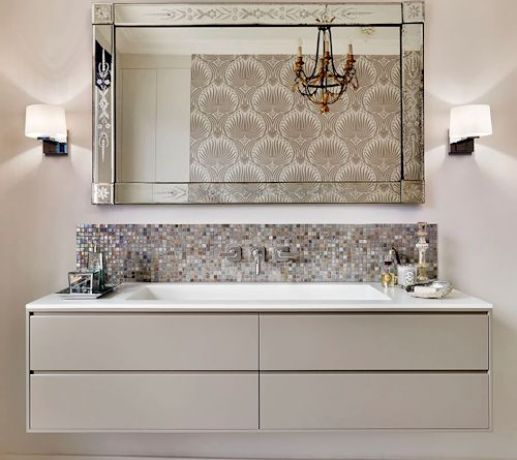 Bespoke Vanity with Custom 4 Drawer Cabinetry