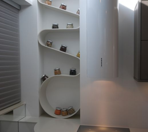 Cool Thermoformed Shelving