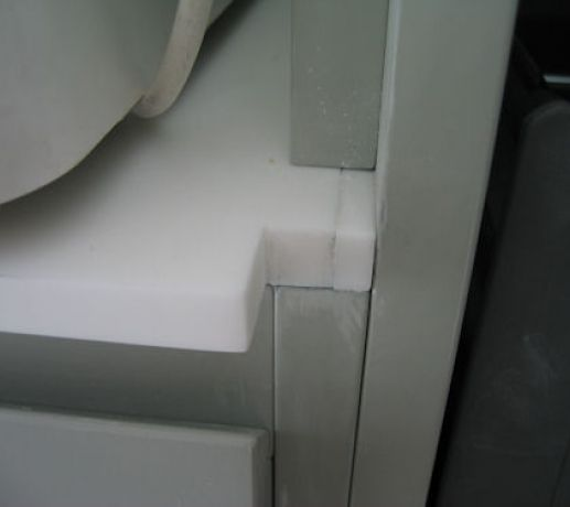Bad joint to cabinet