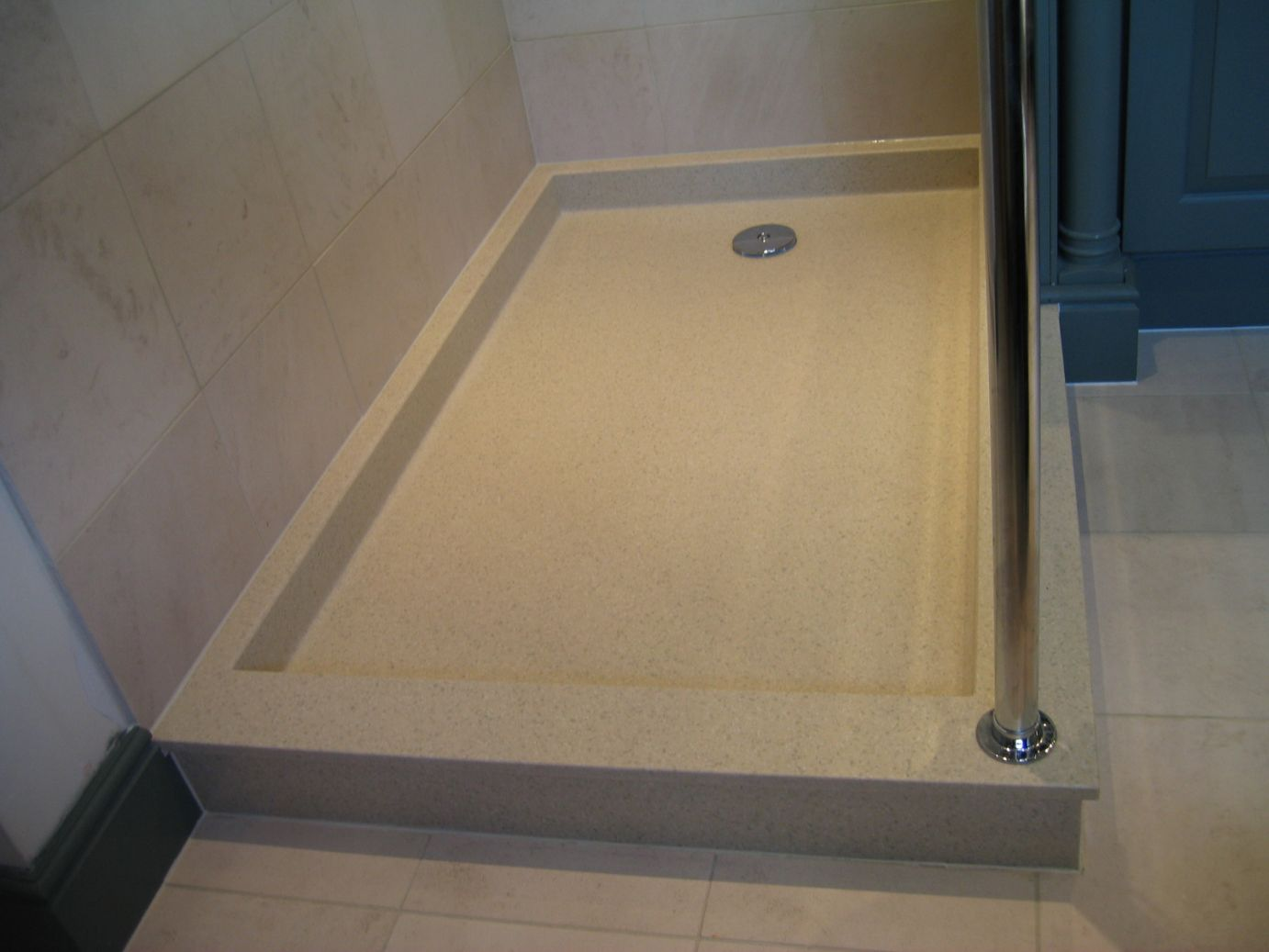 Bespoke Shower Tray In Traditional Style