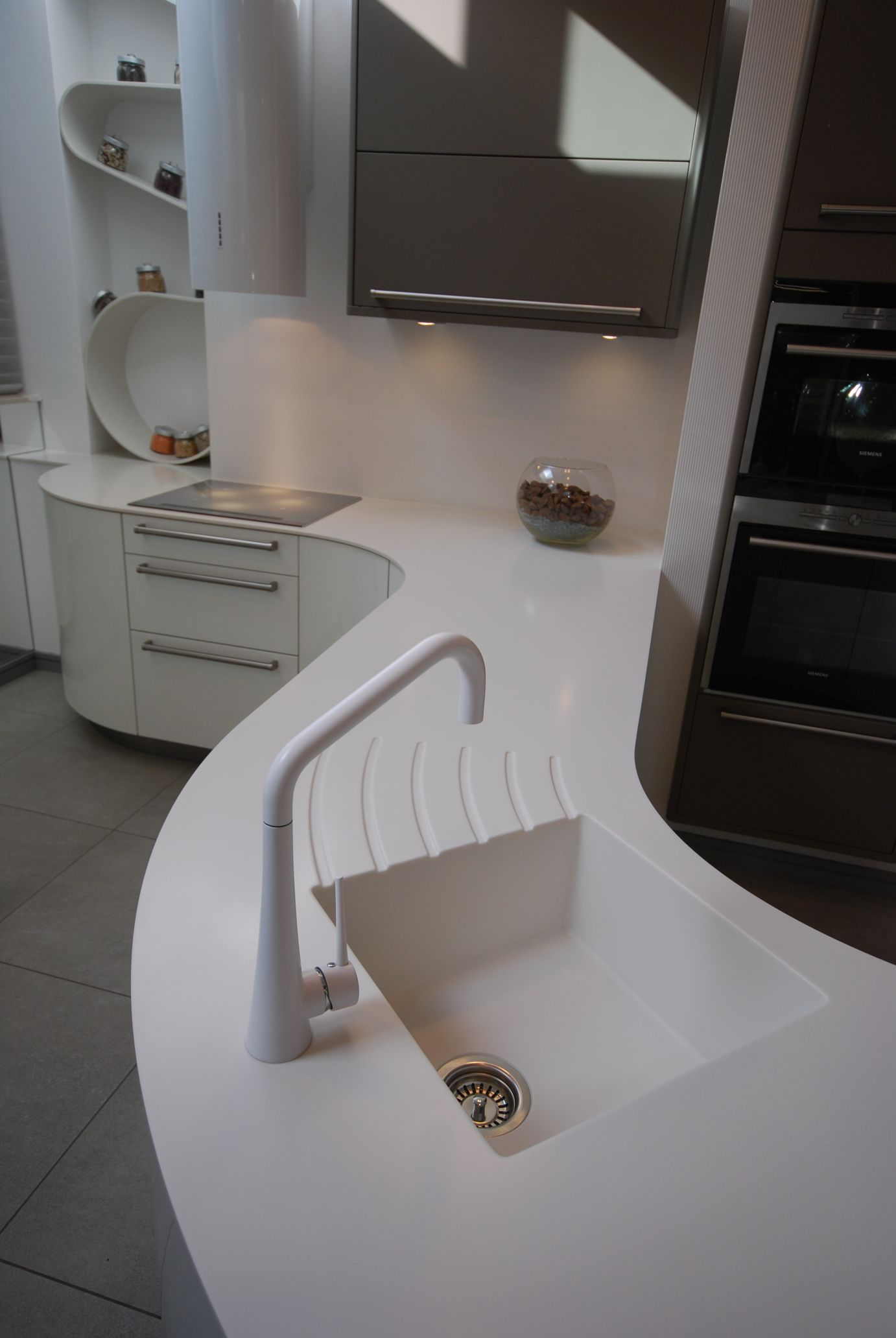 Solid Surface Integrated Sink Part 89