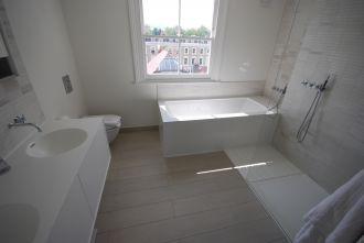 Double Vanity and Bath Surround