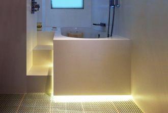 Underlit Bath Surround with Side panels