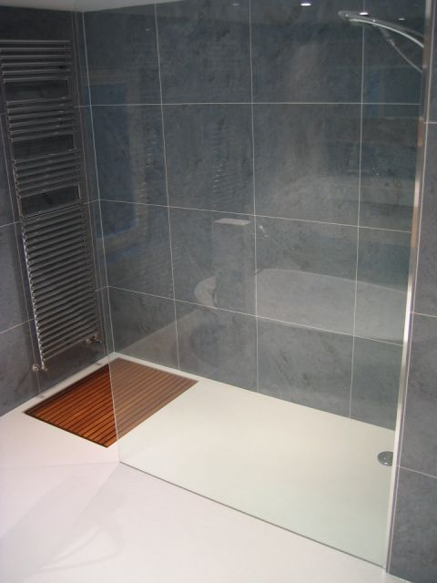 Solidity Wet Room with Duck Board Drying Area