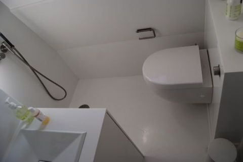 Small Bathroom Corian Wetroom