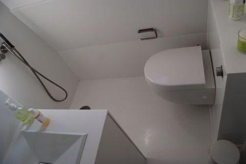 Small Bathroom Corian Wet Room