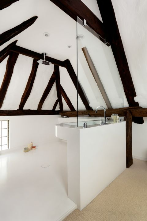 Solidity Wet Room in Barn Conversion