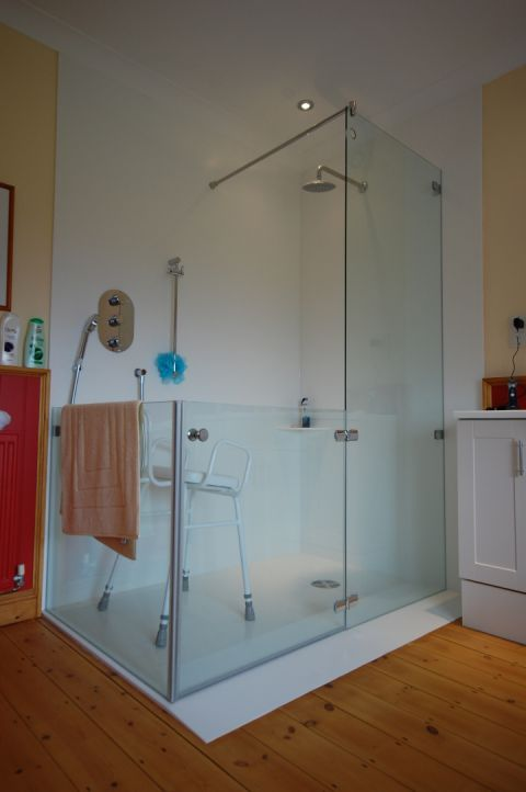 Accessible Made to Measure Shower Tray