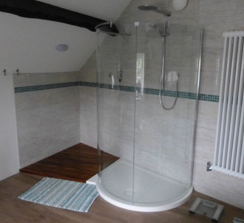Bespoke Curved Shower Tray
