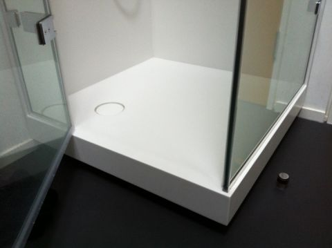 Deep Fronted Made to Measure Shower Tray