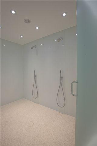 Double Shower Floor