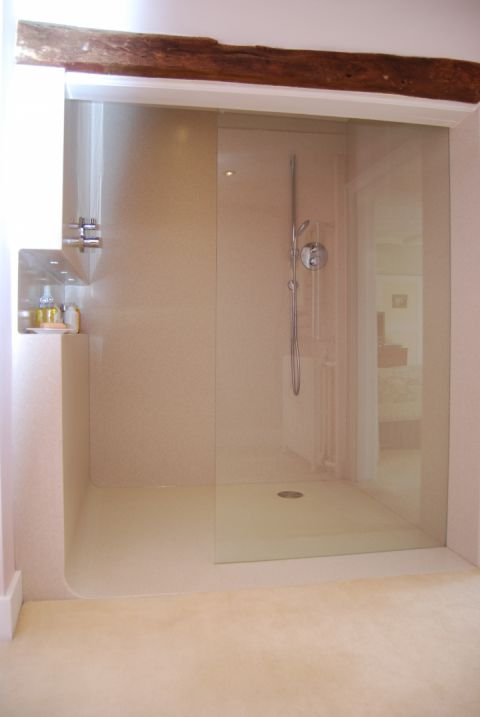 Custom Wet Room with Silicone Free Join to Wall Panels