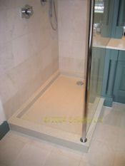 replacement HI-MACS shower tray