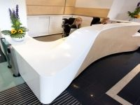 Reception Desk Sculpted detail