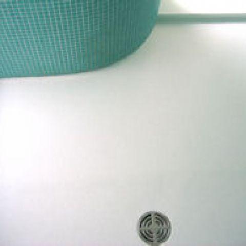 replacement HI-MACS wet room floor
